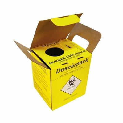 Caixa Coletora de Agulhas 7,0 Litros Descarpack
