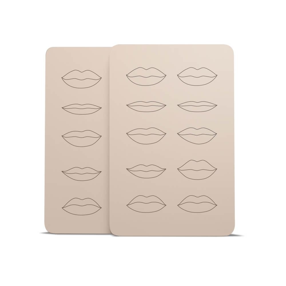 Pele Sintética para treino de Lábios (2 unidades)